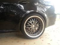 I'm selling my used Penta Axis Rims with tires. The