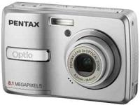 Pentax Optio E40 8.1MP Digital Camera with 3x Optical