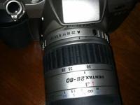 Pentax 35mm camera - ZX7 body, Pentax 1:3.5 - 5.6