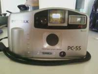 Pentax 35mm camera with a free new roll of 24 exp film.
