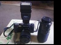 I have a Pentax A3000 Camera with 2 lens and 2 rolls of