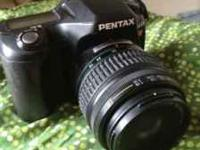 I have a Pentax ist dl digital camera. In great