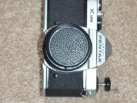 Used Pentax K1000 35mm SLR. Works great-Preparing to