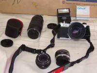 I have a Pentax K1000 camera with the standard 50 mm