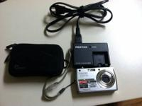 Pentax Optio touch screen camera for sale! 7.1 MP, 3X