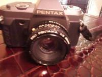 PENTAX P30T MANUAL 35 MM CAMERA WITH EXTERNAL PENTAX