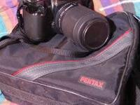 For sale, a gently used Pentax PZ20 with Tamron