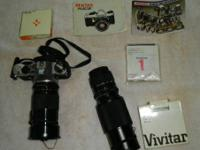 Barely used SuperME with a Vivitar 28-90 zoom lens, a
