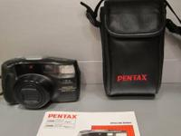 The Pentax Zoom 105 Super is a compact, light-weight 35