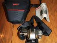 Up for sale is a Pentax ZX-30 35mm SLR with a 28-105mm