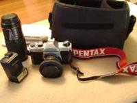 I have a Pentex K-1000 fully manual camera from when I