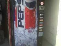 Dixie Narco Pepsi vending machine for sale, slots for
