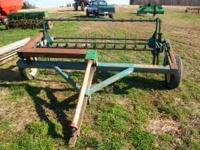 PEQUEA 710 HAY TEDDER, 7' WIDE PICKUP, 540 PTO,