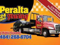 Peralta's 24 Hour Towing service's Emergency 24 hours