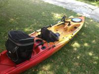 I have a nice kayak rigged and ready for fishing, has