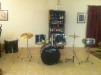 PERCUSSION PLUS DRUM SET ASKING $350 MUST SELL TO PAY
