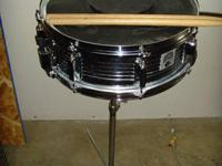 I have a 14 inch Percussion Pro snare drum, case,