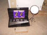 Percussion set. Great condition. Comes with drum pad,