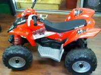I have a Perego Electric four wheeler with charger.