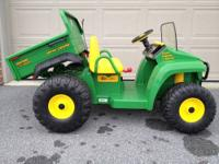 Just in the for Christmas!! John Deere Gator 2