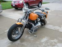 Like new bike.HARLEY DAVIDSON EVO SOFTAIL OEM SPRINGER