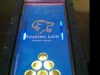 CUSTOM BEER PONG TABLE -REGULATION SIZE WITH NEON