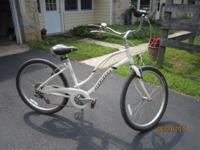 "WOMEN'S 24"" BICYCLE, GIANT MFG ,MADE IN CHINA, 10"