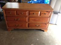We planned on rehabbing this dresser, but never got