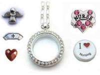 Our Nursing Locket is a great gift for a nurse. Make