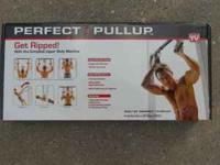 Perfect Pull Up, it is mounted to door frame and lets