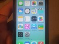 I have a perfect blue iPhone 5c for sprint,  ready to