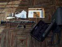 This is a fresh Ridenour 147clarinet, made use of two