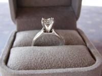 Get a price break on a new, never worn ring! Beautiful