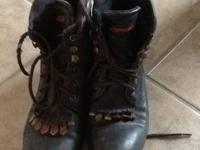 Performair lacer boots size 8.5. My daughter wore for 6