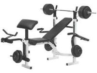 performance pro 315 weight bench (Great Shape) with