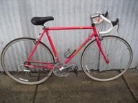 Performance road bike, 53 cm frame, Shimano RX100