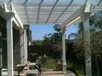 Nice pergola just waiting to give someone or a family