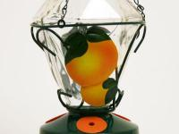 One of Perky Pet's oriole bird feeders, this beautiful,