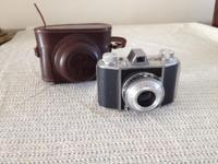 Very old 35 mm German lightweight camera for the