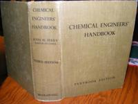 Vintage Chemical Engineer's Handbook, Third Edition,
