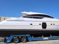 NEW CONDITION - NEVER USED 2013 64 PERSHING!! DONT MISS