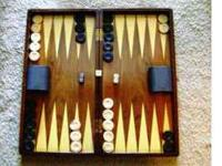 Brand new Persian-made real-wood beautiful Backgammon