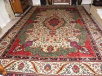 Persian rug ( Tabriz ), 10 x 13 , approx. 70 yrs. old,