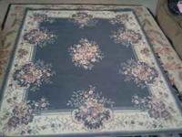 "Persian style rug , measures 5""6 by 7""2 , $40 or best"