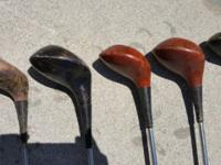 Wood Golf Clubs #1 Palm Springs #1 Allied #5 Wilson #1