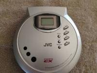 JVC Portable CD Player, XL PC39 FEATURES: Playable