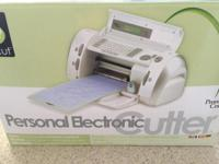 Personal Electronic Cricut Cutter, never been used.