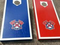 Customized corn hole sets. Unfinished (sanded) $70.