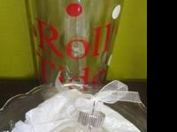 Personalized Ornaments and Double Wall Tumblers w