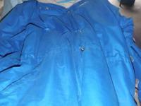 Fleece Lined Reebok coaching type jacket-- size large